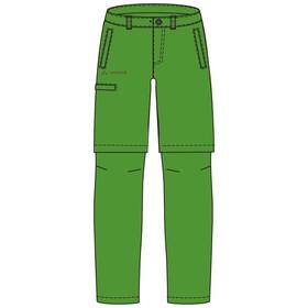 VAUDE Detective II Pantalon convertible avec fermeture éclair Enfant, parrot green